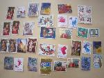 Xmas post stamps